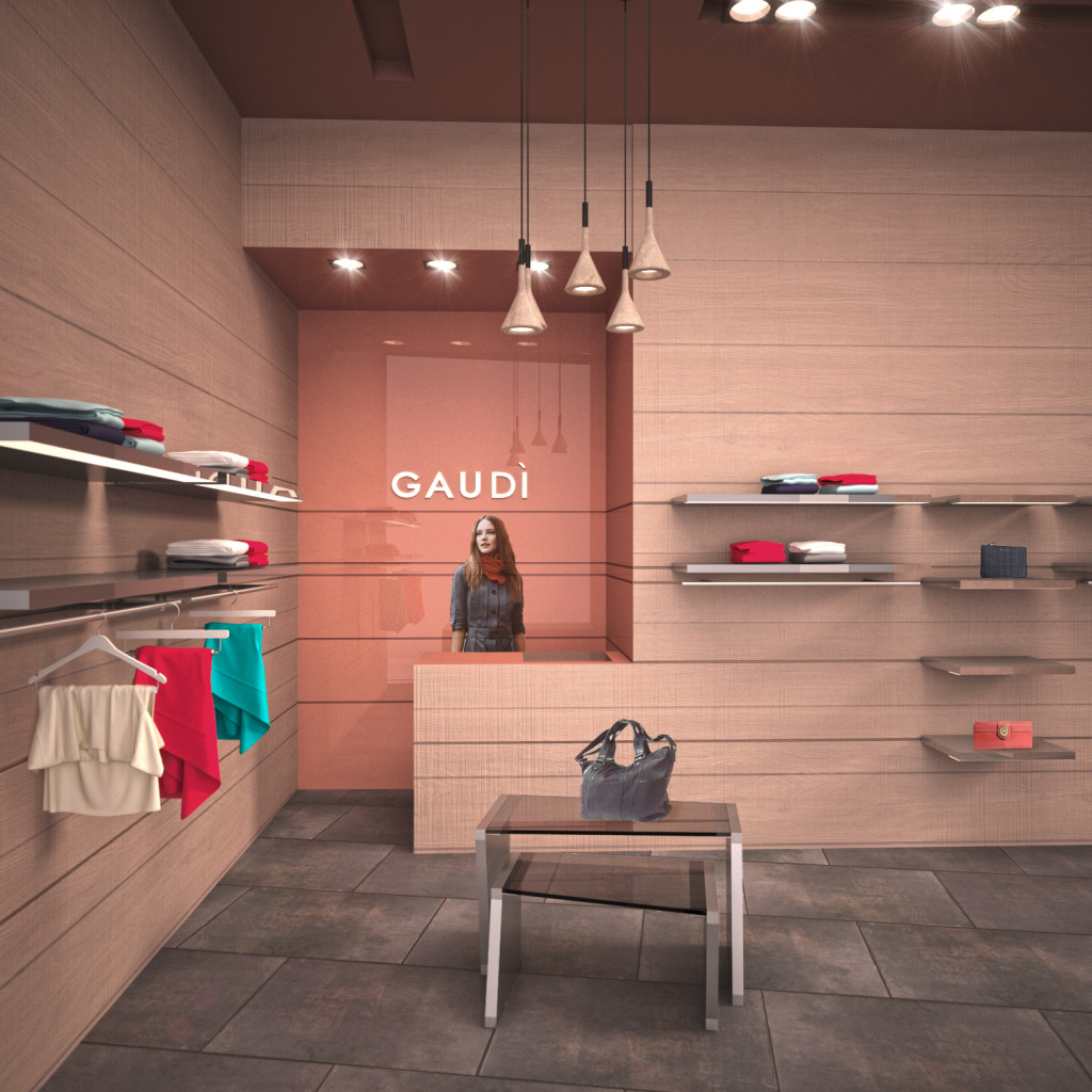 Gaudì fashion shop